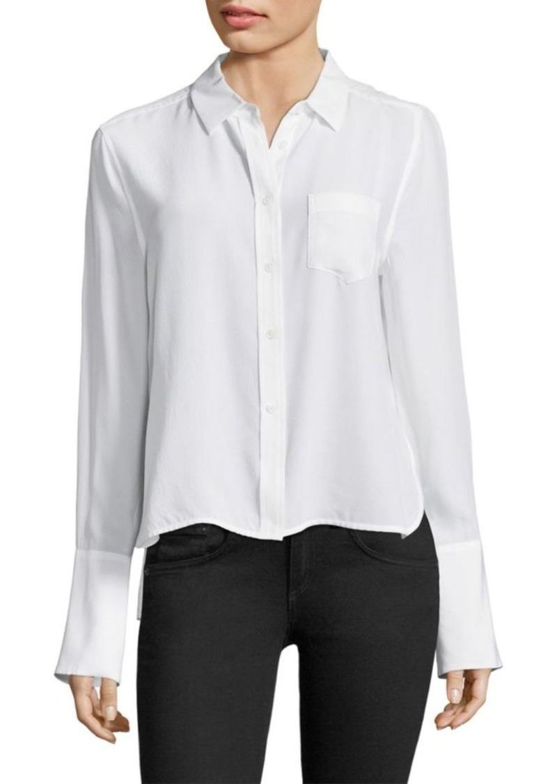 Huntley Silk Button-Down
