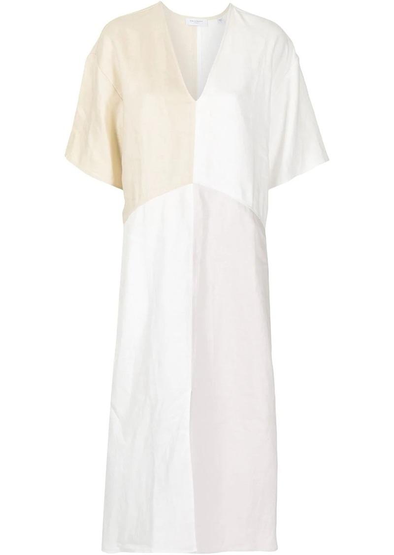 Equipment Josee linen dress