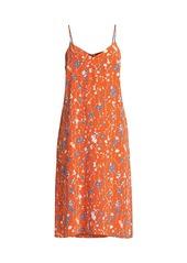 Equipment Jules Floral Slip Dress