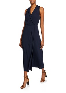 Equipment Katherine Wrap Maxi Dress