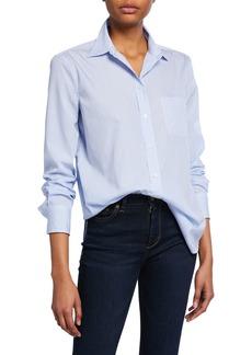 Equipment Kenton Striped Button-Down Cotton Shirt