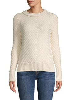Equipment Knit Cotton & Cashmere-Blend Sweater