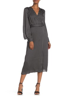Equipment Kortni Long Sleeve Midi Dress
