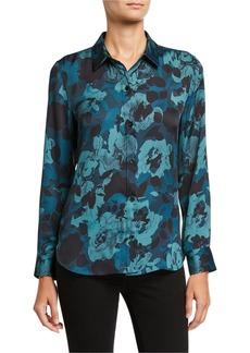 Equipment Leema Floral Button-Down Shirt