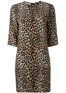 Equipment leopard print dress
