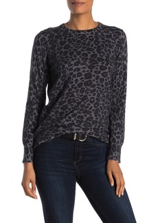 Equipment Leopard Printed Crew Neck Sweater