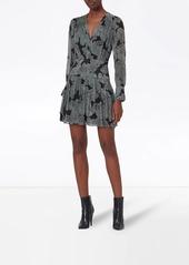 Equipment Lisle abstract-print dress