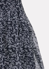 Equipment Lisle Floral Silk Dress