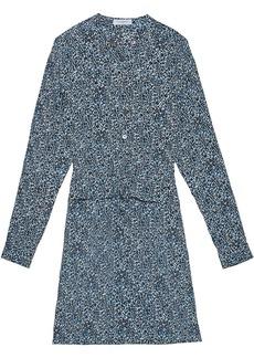 Equipment Lizza leopard-print dress