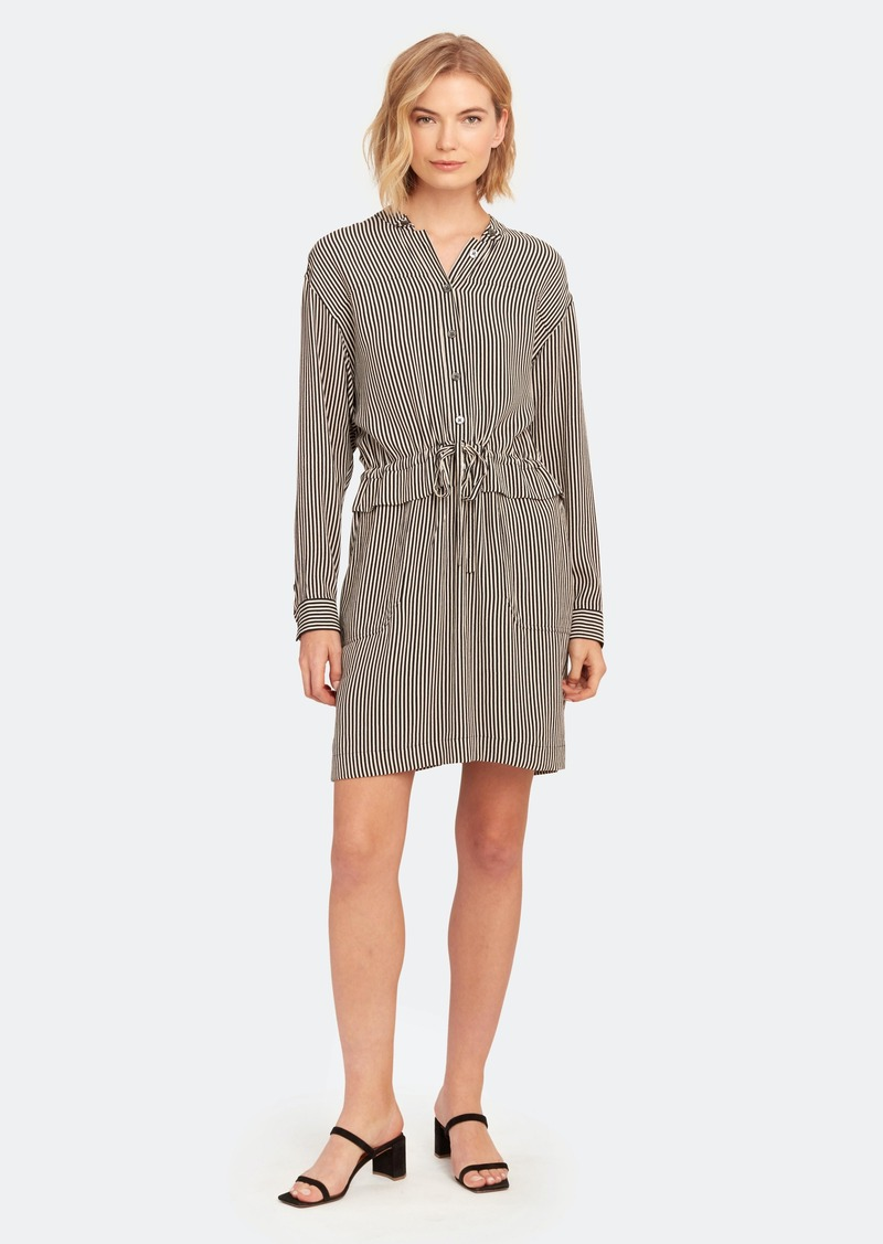 Equipment Lizza Long Sleeve Drawstring Dress - 0 - Also in: 12, 2, 4, 10, 6