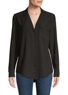 Equipment Long-Sleeve Button-Front Shirt