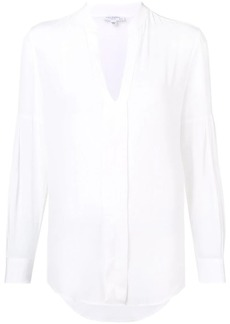 Equipment long-sleeve fitted blouse