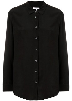 Equipment longsleeved buttoned blouse