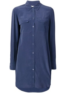 Equipment longsleeved shirt dress