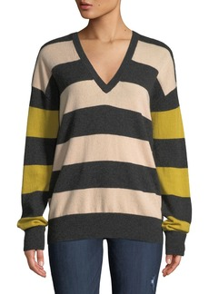 Equipment Lucinda Striped Cashmere Sweater