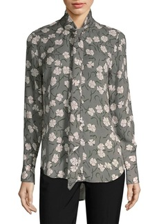 Equipment Luis Silk Floral Blouse