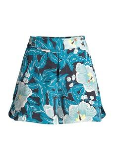 Equipment Lyra Silk Wide Shorts