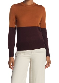 Equipment Mignonette Wool Colorblock Sweater
