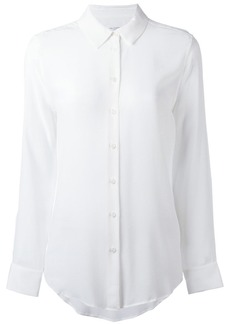 Equipment narrow collar shirt