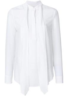 Equipment neck tie detail blouse