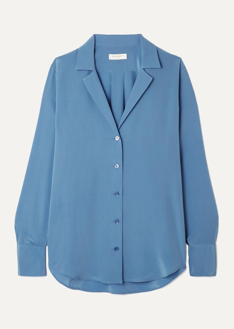 Equipment Oriana Silk Crepe De Chine Shirt