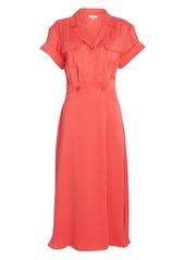 Equipment Orlenna Button Front Dress