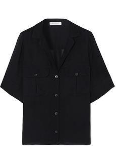 Equipment Parnella Silk-jacquard Shirt