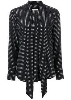 Equipment polka dot print blouse