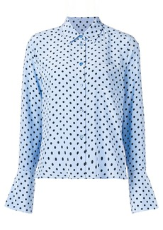 Equipment polka-dot shirt