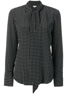 Equipment polka dotted blouse