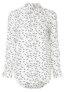Equipment polka dotted shirt