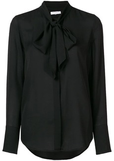 Equipment pussy bow blouse