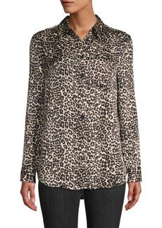 Equipment Reese Leopard-Print Shirt