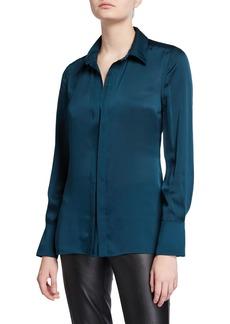 Equipment Rene Long-Sleeve Button-Down Shirt