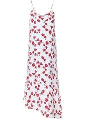 Equipment rose print dress