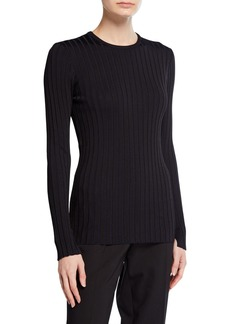 Equipment Saviny Crewneck Rib Sweater