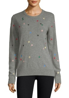 Equipment Shane Star Embroidered Pullover