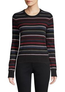 Equipment Shirley Variety Stripe Cashmere Sweater