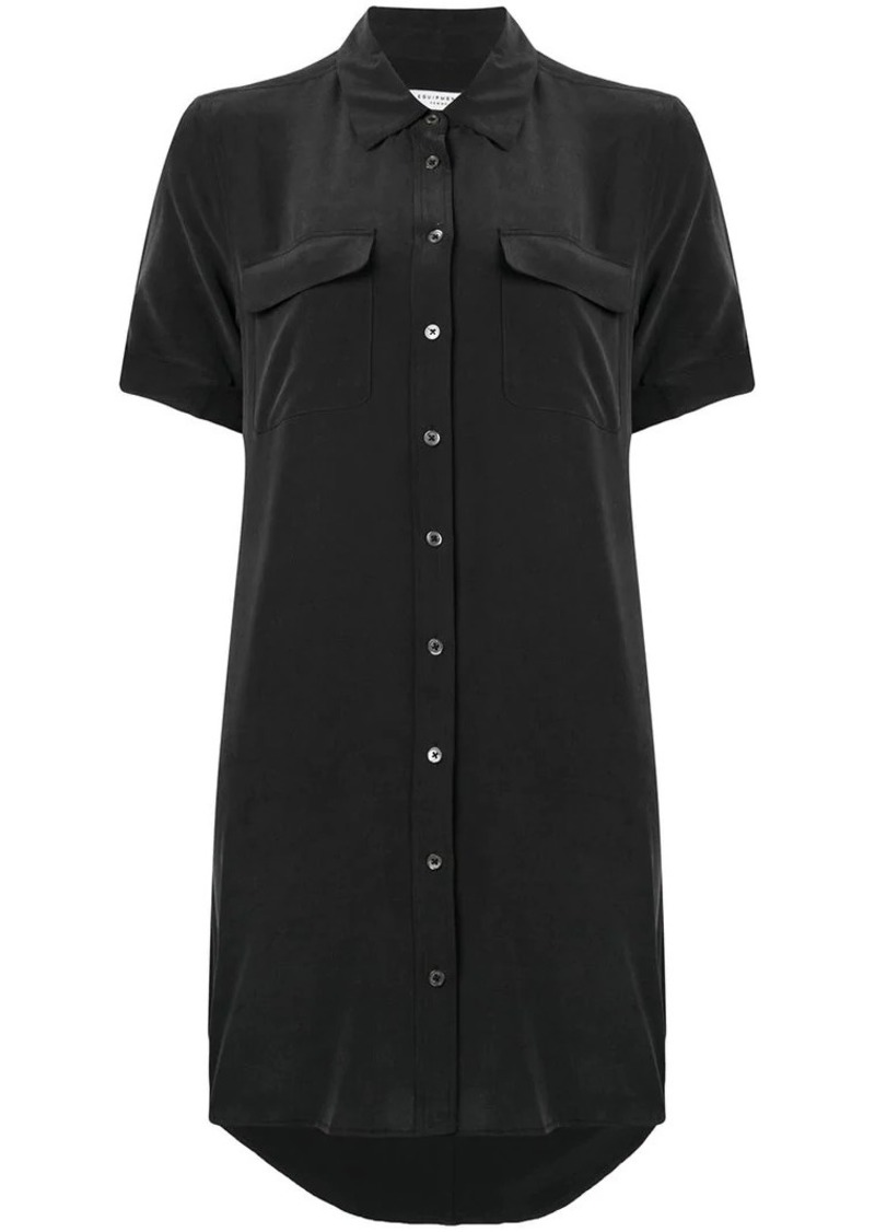 Equipment shortsleeved shirt dress