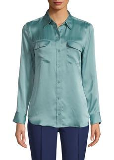 Equipment Sleek Long-Sleeve Shirt