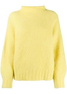 Equipment slub knit jumper