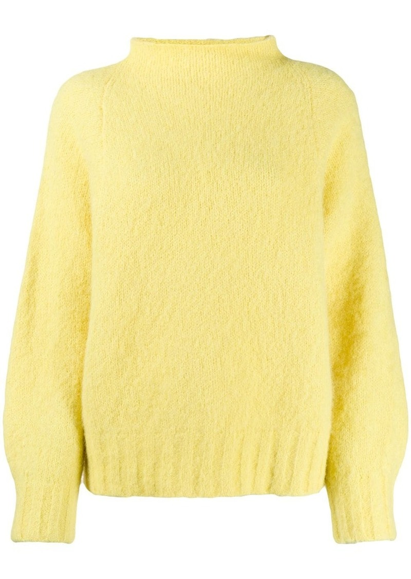 Equipment slub knit jumper