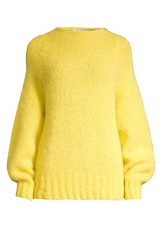 Equipment Souxanne Mockneck Alpaca-Blend Sweater