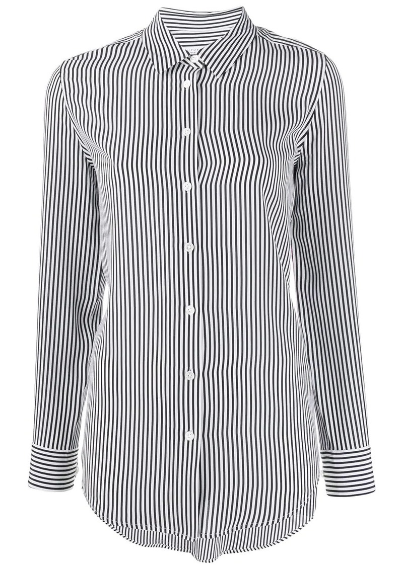 Equipment striped button shirt