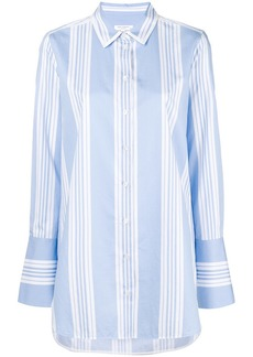 Equipment striped long-sleeved shirt