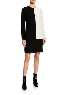 Equipment Tatienne Colorblock Shift Dress