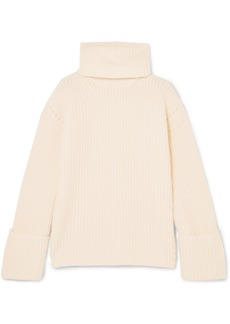 Equipment Uma Oversized Wool And Cashmere-blend Turtleneck Sweater