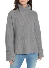 Equipment Uma Wool & Cashmere Turtleneck Pullover