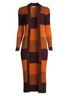 Equipment Verelle Colorblock Wool Duster Cardigan
