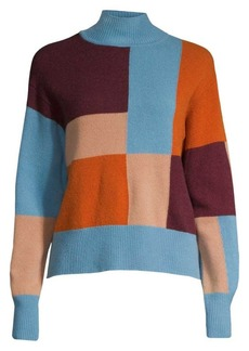 Equipment Voulaise Colorblock Yak & Wool Sweater
